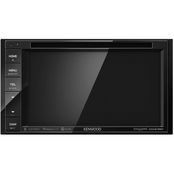 Kenwood 6.2 in. Double-DIN In-Dash DVD Receiver with Bluetooth & SiriusXM Ready