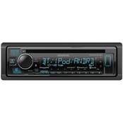 Kenwood Single-DIN In-Dash CD Receiver with Bluetooth & SiriusXM Radio