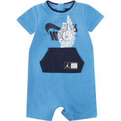 Jordan Infant Boy Wings Futura Romper