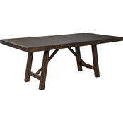 Signature Design by Ashley Rokane Rectangular Dining Room Extension Table