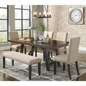 Signature Design by Ashley Rokane Dining Room 6 pc. Set