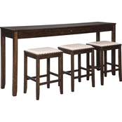 Rokane 4pc Counter Table Set