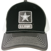 Blync Army or Air Force Twill Nylon Mesh Back Cap