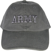 Blync Army or Air Force Black Low Profile Cap
