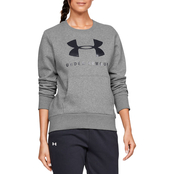 Under Armour Favorite Fleece Sportstyle Graphic Crew Top