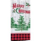 Kay Dee Designs Camp Christmas Merry Christmas Dual Purpose Terry Towel