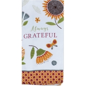 Kay Dee Designs Always Grateful Dual Purpose Terry Towel