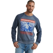 Lucky Brand Colorblock Woodstock Crew Sweatshirt