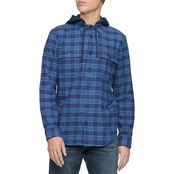 Calvin Klein Jeans Hooded Flannel