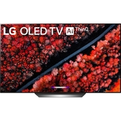 LG 77 in. OLED 4K HDR Smart TV with AI ThinQ OLED77C9PUB