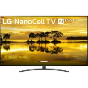 LG 75 in. Nano 9 Series 4K Smart NanoCell TV with AI ThinQ 75SM9070PUA