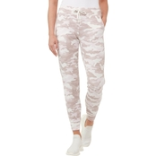 Calvin Klein Performance Print Cuffed Joggers with Slant Pockets