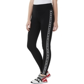 DKNY Sport High Rise 7/8 Legging with Logo Side Seam Print