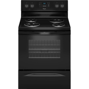 Whirlpool Electric Range Black