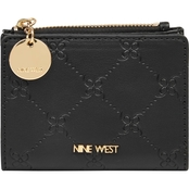 Nine West Double Up Small Zip Wallet