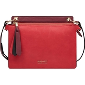 Nine West Zip It Up Double Zip Crossbody