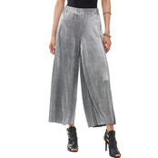 MICHAEL KORS PLEATED METALLIC PANT