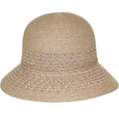 Nine West Packable Cloche in Natural Heather