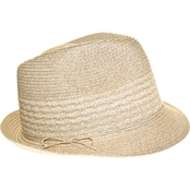 Nine West Packable Fedora in Sand Heather