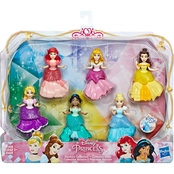 Disney Princess Small Dolls Rainbow Collection, Multipack