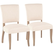 LumiSource Rita Dining Chair 2 pk.