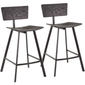 LumiSource Rocco Counter Stool 2 pk.