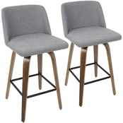 LumiSource Toriano Counter Stool 2 pk.