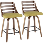 LumiSource Trevi Counter Stool 2 pk.