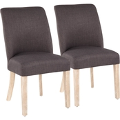 LumiSource Tori Dining Chair 2 pk.