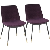 LumiSource Wanda Chair 2 pk.