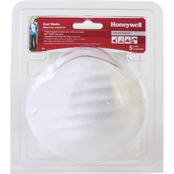 Honeywell Nuisance Particulate Disposable Dust Mask, 5 pk.