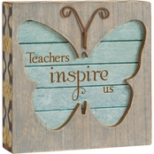 Pavilion Teacher Butterfly Plaque