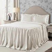 Lush Decor Ticking Stripe Bedspread Set