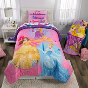 Disney Princesses Ready to Explore Twin/Full Comforter