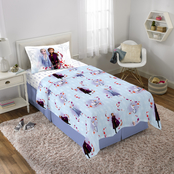 Disney Frozen II Frozen Foliage Twin Sheet Set