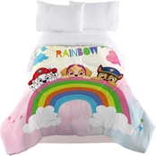 Nickelodeon Paw Patrol Be Your Own Rainblow Twin/Full Comforter