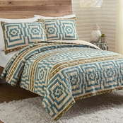 Makers Collective Justina Blakeney Hypnotic Blue 3 pc. Quilt Set