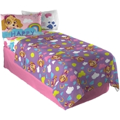 Paw Patrol Be Your Own Rainbow Twin Sheet Set