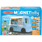 Magnetivity Food Truck Building Play Set