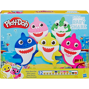 Playdoh Baby Shark, 21 pc. Set