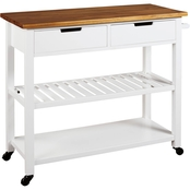 Signature Design by Ashley Withurst Kitchen Cart