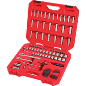 Craftsman 105 pc. 1/4 in. and 3/8 in. Drive SAE and Metric Mechanics Tool Set