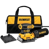 DEWALT 1/4 Sheet Palm Grip Sander Kit
