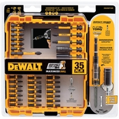 DEWALT FLEXTORQ IMPACT READY SCREWDRIVING BIT 40PC SET