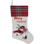 ICE Design Factory Cardinal Merry Christmas Stocking
