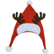 ICE Design Factory Velvet Reindeer Santa Hat