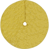 ICE Design Factory 48 in. Gold Sequin Tree Skirt