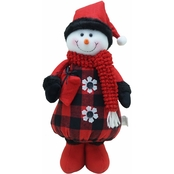 ICE Design Factory 15 in. Standing Snowman  Christmas Decor