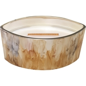 Woodwick Applewood Reactive Glaze Ellipse Candle