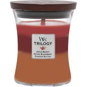 Woodwick Medium Autumn Harvest Trilogy Candle